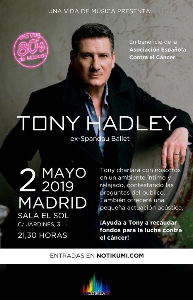 Tony Hadley en España