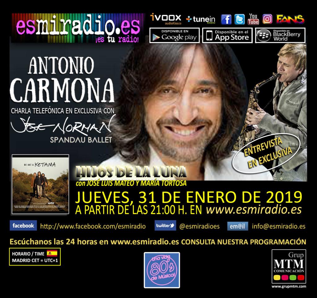 Entrevista a Antonio Carmona