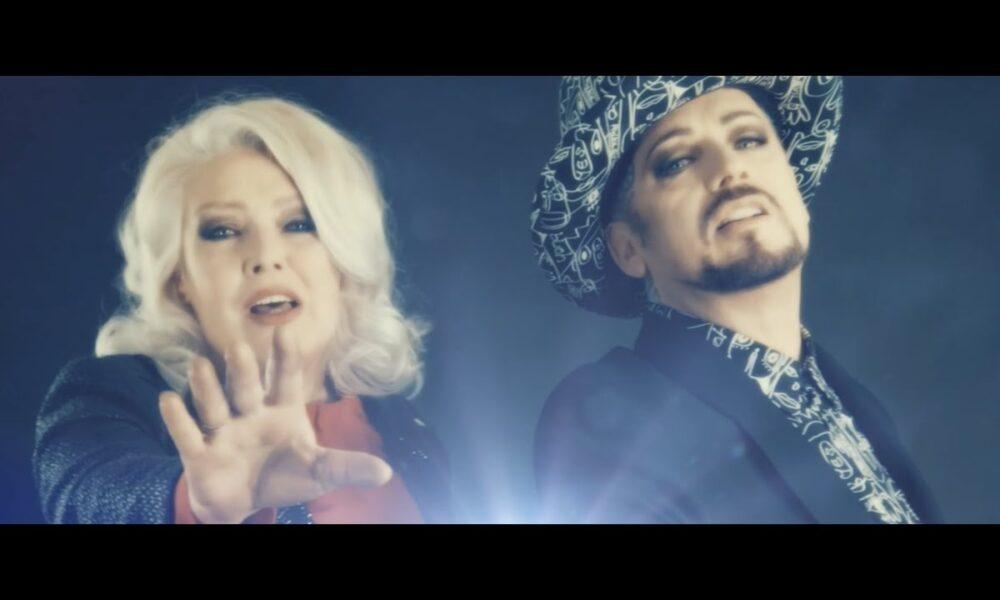 'Shine On', Kim Wilde y Boy George